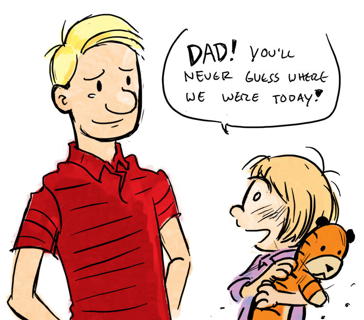 Adult Calvin (from Calvin and Hobbes)